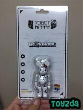 Medicom 2017 Action City 100% Robot Hello Kitty White ver. Bearbrick Be@rbrick