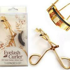 Golden THE FACESHOP Eye Eyelash Curler with 24K GOld Plated 글