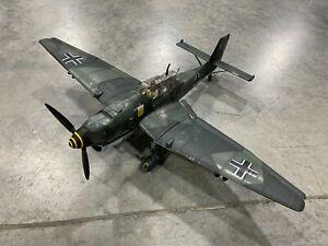 1:18 Scale 21st Century Toys German Ju-87 Stuka Bomber & Pilot Loose Clean NR