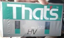 VHS VERGINI THAT'S E-120 HV