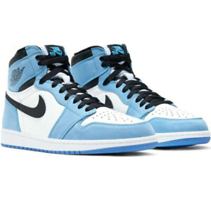Scarpe Da Ginnastica Air Jordan 1 Nik High OG PS Retro High University Blue Uomo