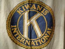 Vintage Kiwanis Banner Flag Lot 217