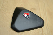 Ducati Panigale 899 1199 100% Carbon fibre seat pad pillion cowl corse
