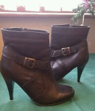 Unbranded Women's 100% Leather Stiletto Ankle Boots