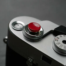 Mr.Stone Concave Shutter button release for Leica FUJI Canon Nikon And Other Red
