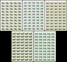 RUSSIA 1996 SC# 6315-20 Full Sheets, Russian Trams, MNH