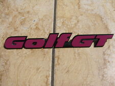 Emblem VW Golf 2 FIRE & ICE EMBLEM GT GL 16V GTI G60