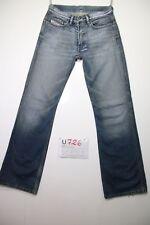 Diesel Ravix (Cod.U726) Tg.43 W29 L34 jeans vita alta usato