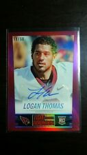 2014 Panini Hot Rookies Logan Thomas Red Refractor Auto 50/50 - eBay 1/1