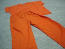 Costume Inmate Jail Prisoner Orange 2 piece set  2XL