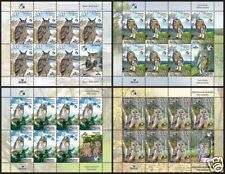 2008. Belarus. Birds of Belarus. Owls. Sheets/Panes. MNH