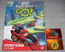 wie Panini Leeralbum - Sammelalbum Angry Birds Go mit 10 Sticker