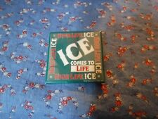 ksm. Miller High Life Ice Comes to Life Pin Button 2 1/8 x 2 1/8 Inches