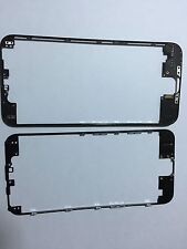 New Replacement Plastic Frame Bezel For Iphone 6 LCD Screen Black With Hot Glue