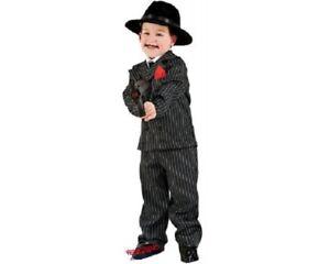 Le Ragazze Costume Da Gangster NONNA Taglia 7-9yrs