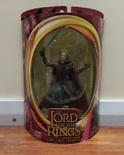 TOY BIZ LOTR THE TWO TOWERS MIB KING THEODEN FIGURE