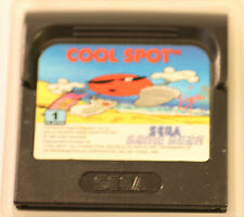 SEGA GAME GEAR  GAMEGEAR COOL SPOT  GAME (GAME ONLY)