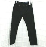 Hollister Men's Epic Flex Classic Straight Jeans Color Black Size W32 x L32