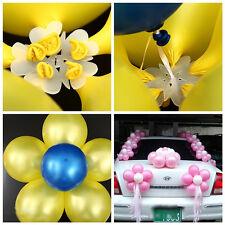 10pcs Plum Flower Balloon Seal Clip Party Balloon Sticks Clip Sealing Clamp Tool