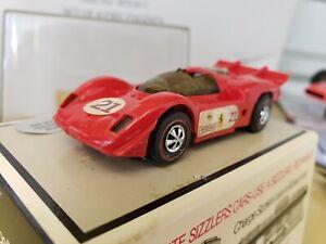 Hot Wheels Sizzlers Ferrari CAN-AM Motorev Engine Sound Mattel