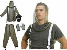 Mosquito Bug Net Jacket with Reflectors Pants and Mitt's Mosquito Bug Suit $69
