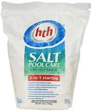 hth - Swimming Pool Salt Chemical Care 3-in-1 Start up Kit - 4lbs