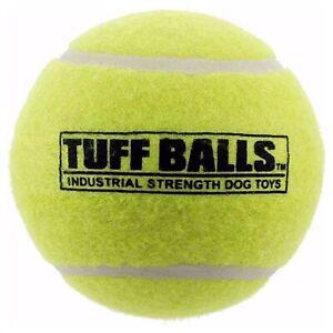PetSport Tuff Tennis Ball Bulk Dog Toy Industrial-Strength Non-Toxic 2.5 inch
