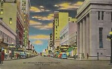 Franklin Street Looking North in Tampa FL Postcard