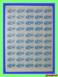 North Vietnam Return of government to Hanoi 1500d Sheet 50 MNH NGAI