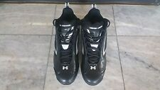 Under Armour Men's Metal Bomber Mid ST Baseball Shoes Cleats 1097001-001 SZ 9.5