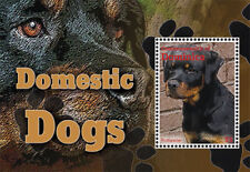 DOMINICA 2013 - DOMESTIC DOGS STAMP SOUVENIR SHEET MNH