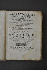 Prediche Concerti Corone Clemente Venezia Zodiaco Magia Diavolo Stelle 1700