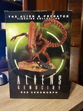 Alien vs Predator Aliens Genocide Red Xenomorph Eaglemoss