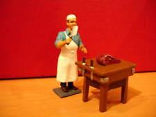 CBG mignot figurine LE BOUCHER AVEC BILLOT   lead toy soldier figure