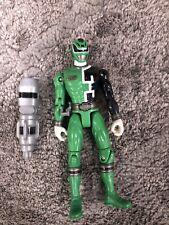 Power Rangers SPD Green Light Patrol Ranger (Missing Weapon)