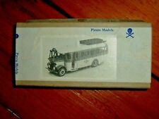 PIRATE 00 WHITE METAL MODEL BUS KIT OF A GUILDFORD HALF CAB COACH BOXED