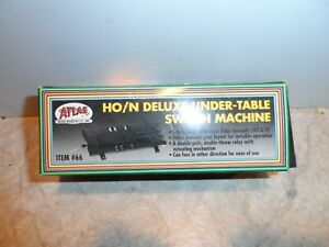 ATLAS  HO/N DELUXEUNDER TABLE SWITCH MACHINE # 66