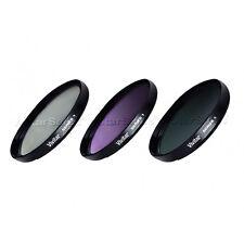 Vivitar 46mm 46 Multi Coated Filter Kit  UV + CPL + FLD Series 1 Optics