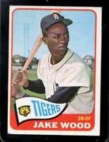 1965 TOPPS #547 JAKE WOOD VGEX SP TIGERS *XR27774