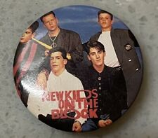 Vintage 1989 Nkotb New Kids On the Block Pin ~ Small Button Pin