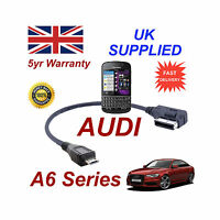 AUDI A6 Series 4F0051510M Cable For BLACKBERRY Q10 MICRO USB Audio connection