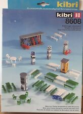 Kibri 8608 H0 kit  -   Town Square Accessories