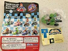 MarioKart Pull Back Racers - YOSHI w/ stickers Tomy Gacha - Brand New