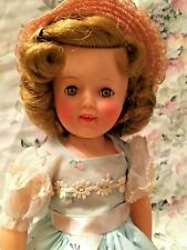 "Ideal  Vintage 12"" Shirley Temple Doll EXCEPTIONAL HIGH COLOR PERFECTION"