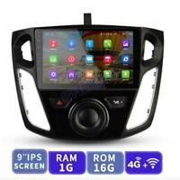 9'' Car Stereo Radio Android 9.1 GPS OBD Wifi  Canbus For  Ford Focus 2012-2017