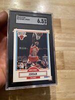 Michael Jordan SGC 6.5 NM 1990 Fleer #26 Last Dance GOAT INVESTMENT Chicago Bull