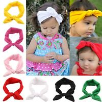 Turban Knot Hairband Rabbit Ears Hooded Baby Headbands Rabbit Headband