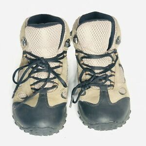 MERRELL Chameleon Mid Waterproof Youth Hiking Boots Shoes Size 3