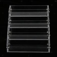 4 Tiers Makeup Nail Polish Varnish Acrylic Display Stand Rack Retail Holder