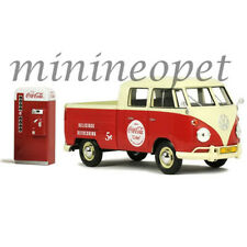 MCC 424063 COCA COLA COKE 1963 VOLKSWAGEN TYPE 2 T1 with VENDING MACHINE 1/24